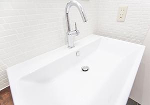 洗面の水漏れ修理