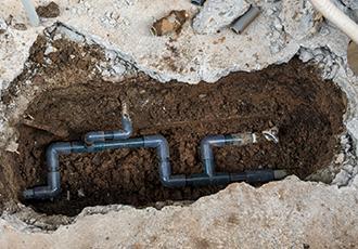 給水管の設置
